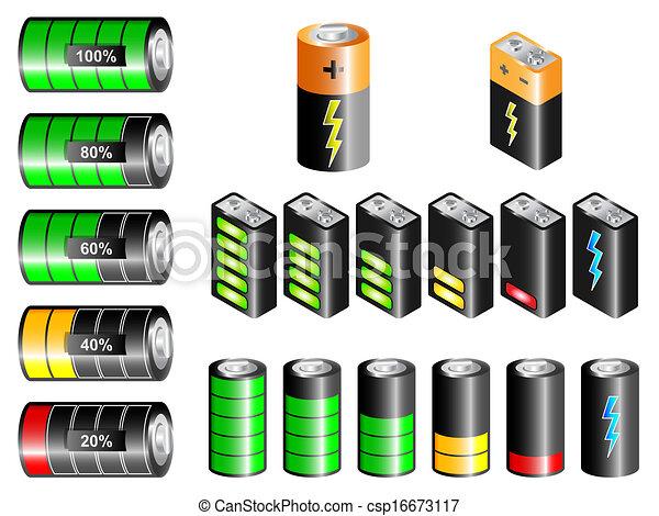 Batteries Clipart