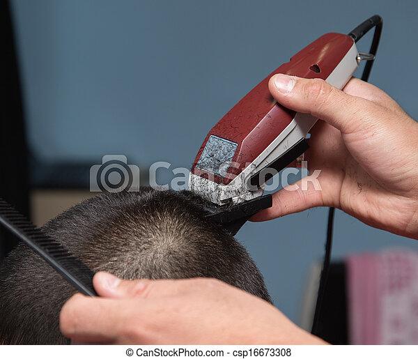 barber haircut machine