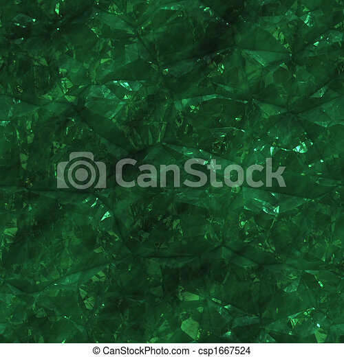 Crystalline mineral facets - csp1667524