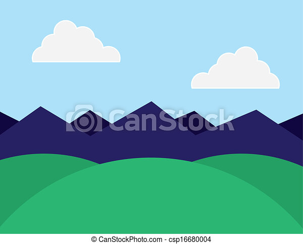 Purple Mountains Clip Art – Cliparts