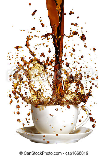 coffee splash - csp1668019
