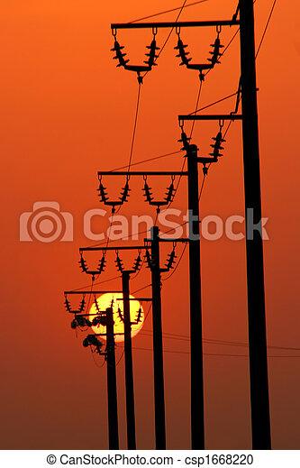 Power energy lines - csp1668220