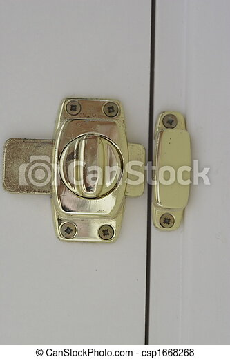 Pictures Of Brass Door Lock The Type Used On A Bathroom Csp1668268 Search Stock Photos Images