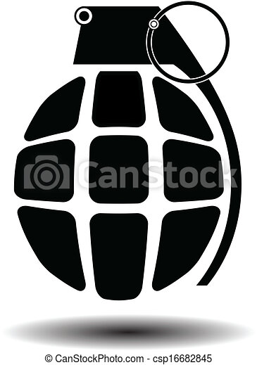 eps vector of grenade isolated vector csp16682845 search
