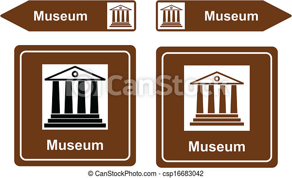Museum sign Vector Clip Art EPS Images. 5,615 Museum sign clipart ...