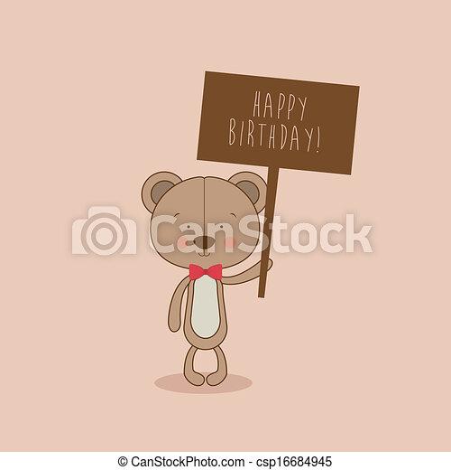 happy birthday - csp16684945
