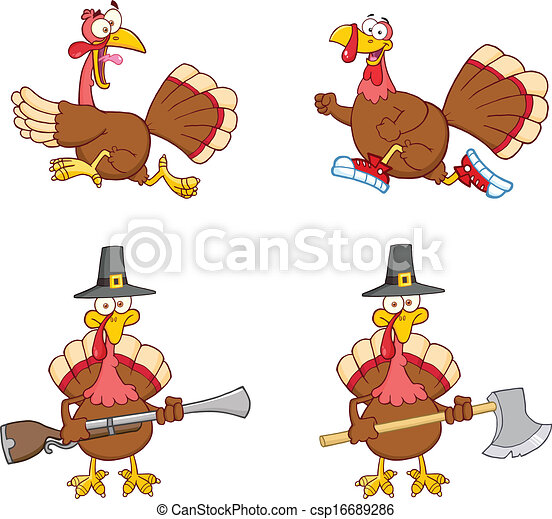 Turkey Birds 1. Collection Set - csp16689286