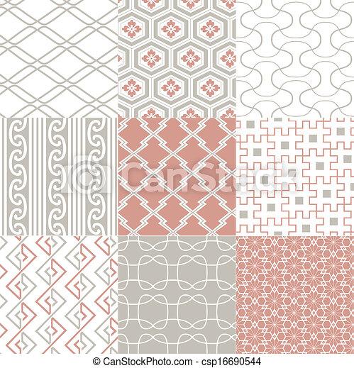seamless japanese pattern  - csp16690544