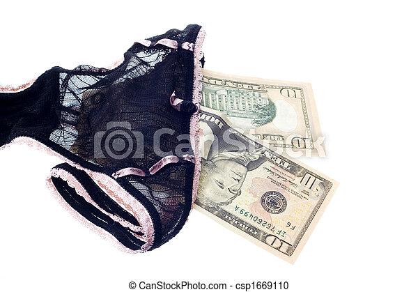 lingerie female prostitution - csp1669110
