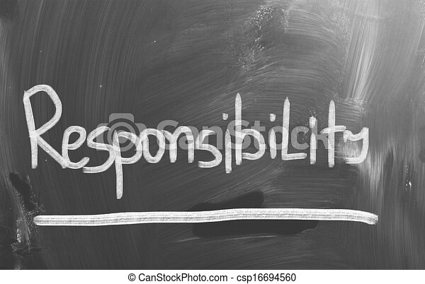 Stock Illustration of Responsibility Concept csp16694560 ...
