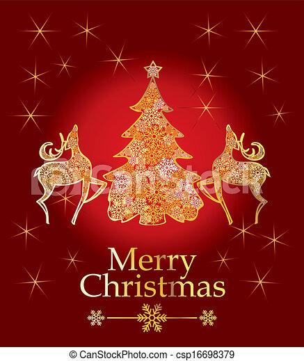 vector christmas design - csp16698379