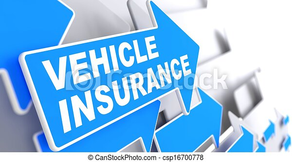 Vehicle Insurance. Business Concept. - csp16700778