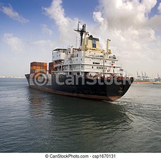 cargo ship - csp1670131