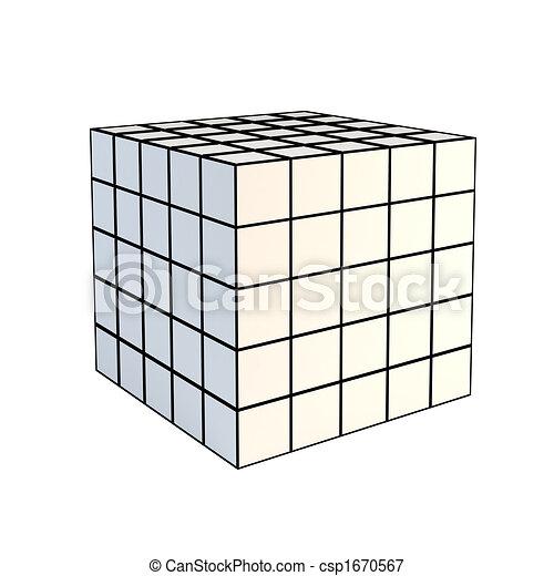 stock illustrationen von wei es w rfel facettiert 3d. Black Bedroom Furniture Sets. Home Design Ideas