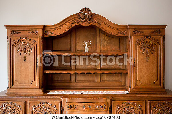 anticaglia, cassetti, torace, scaffale, Mobilia - csp16707408