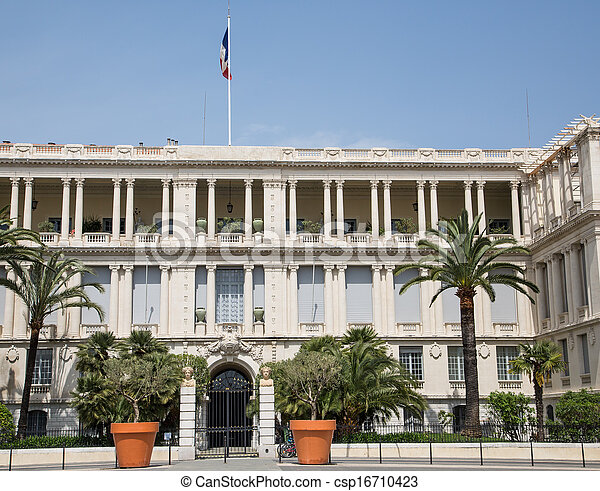 Government Building in Nice - csp16710423
