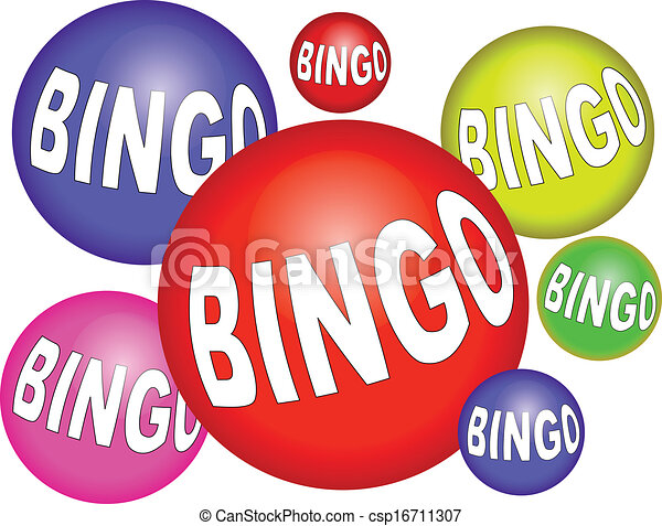 Vector Clipart of bingo csp16711307 - Search Clip Art, Illustration ...