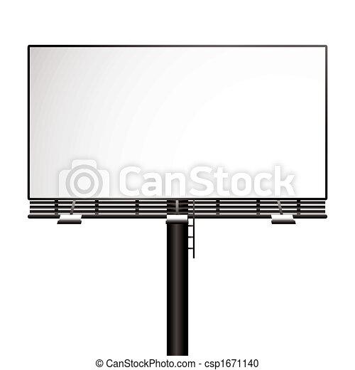 billboard - csp1671140