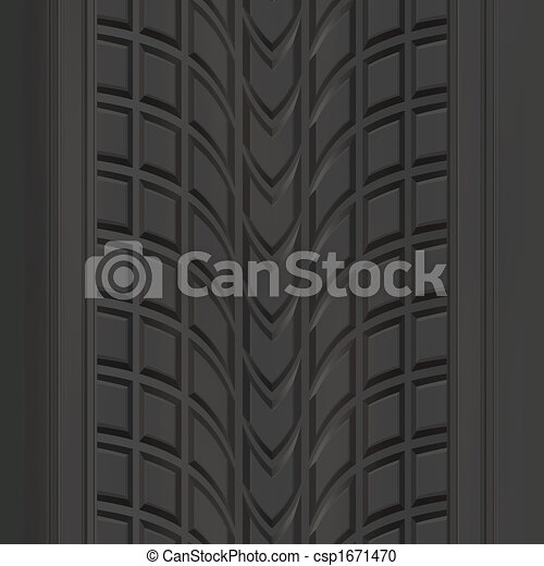 Tire Tread Pattern - csp1671470