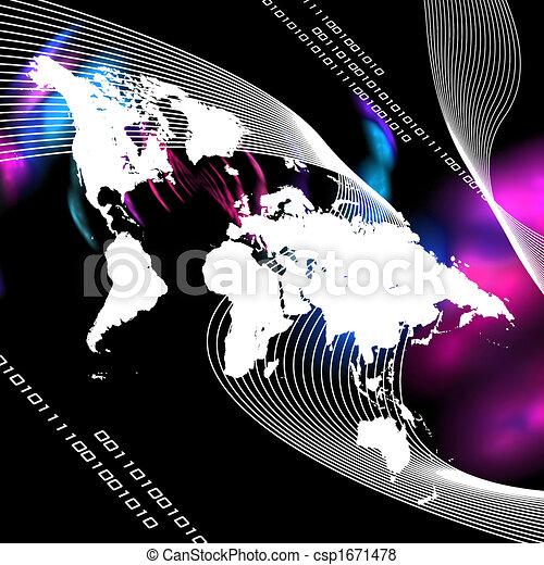 Worldwide Montage - csp1671478