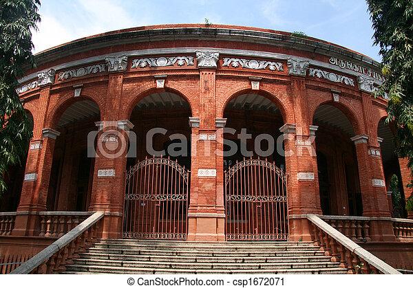 chennai, 政府, 印度, 博物館 - csp1672071