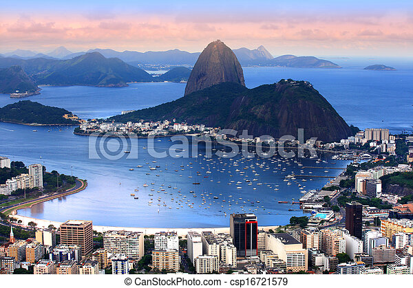 Rio De Janeiro, Brazil landscape - csp16721579