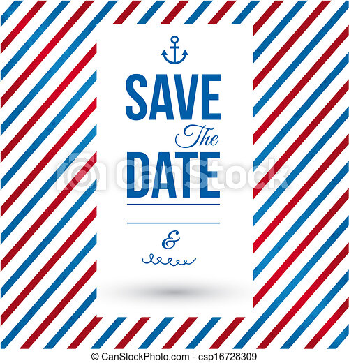 Save the date for personal holiday. - csp16728309