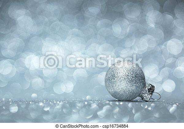 Christmas decoration background - csp16734884