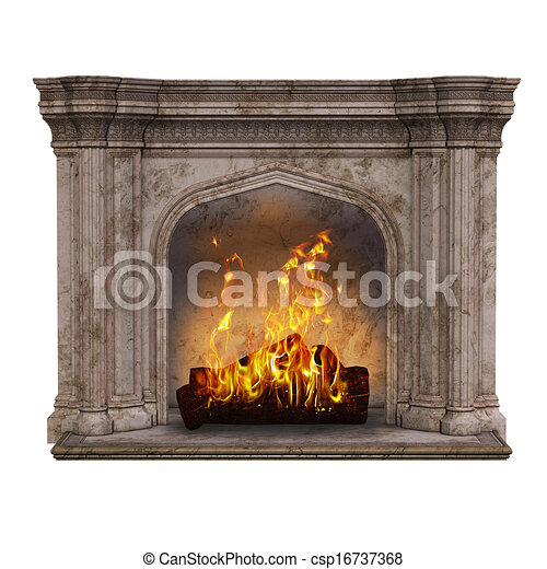Fire place - csp16737368