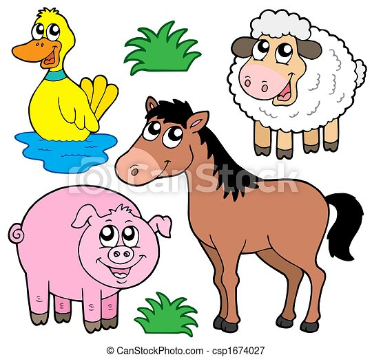 Farm animals collection 5 - csp1674027