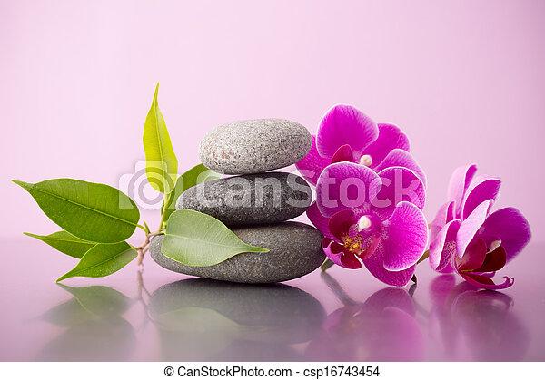 Spa stones. - csp16743454