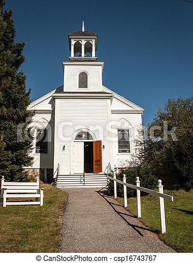 Rural  Church - csp16743767