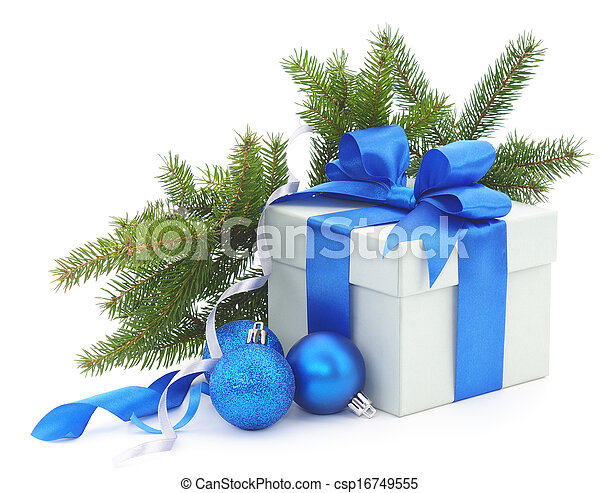 navidad, regalo - csp16749555