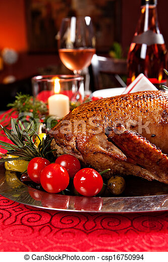 holiday turkey - csp16750994