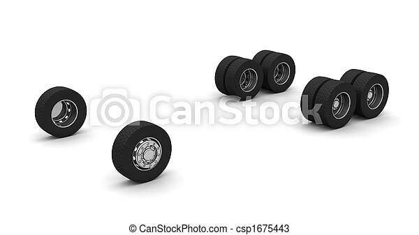 Truck wheels - csp1675443