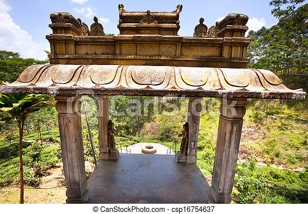 Temple on Sri Lanka - csp16754637