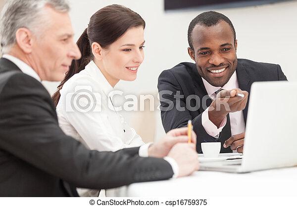 Business, équipe - csp16759375
