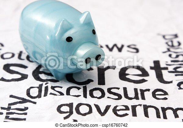 Secret disclosure government - csp16760742