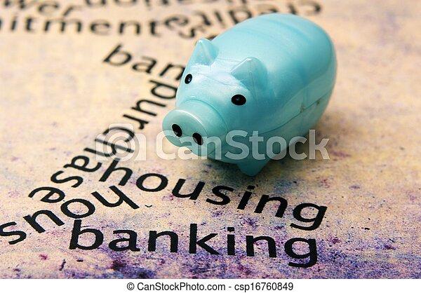 Housing banking concept - csp16760849