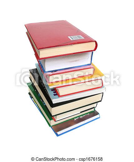 Books, books, books - csp1676158