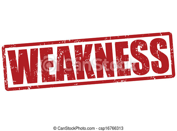 Strengths and weeknesses in english