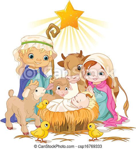 Holy Family - csp16769333
