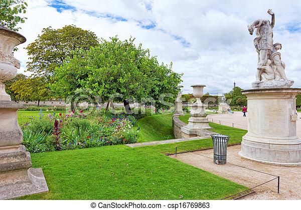 Stock de fotos escultura estatuas jard n tuileries - Estatuas de jardin ...