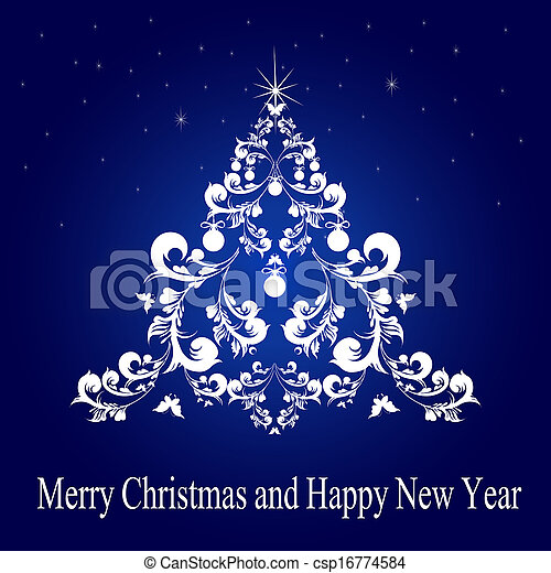 Christmas,New Year design - csp16774584