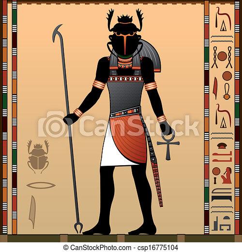 Religion of Ancient Egypt - csp16775104