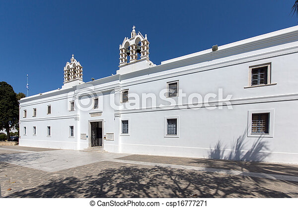 Church of Panagia Ekatontapiliani - csp16777271