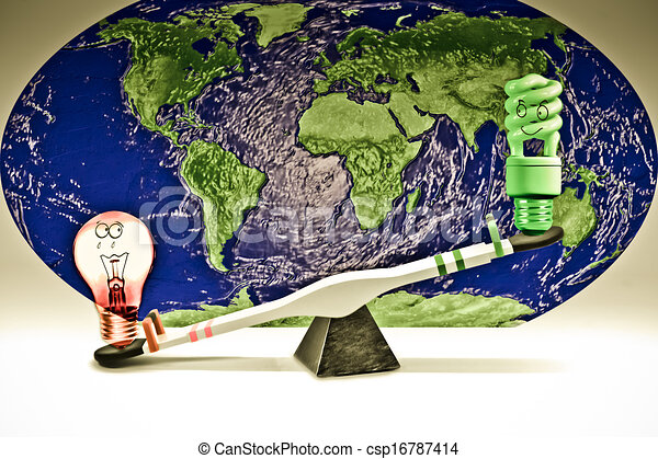 Clipart Energy Saving Energy Saving And Regular