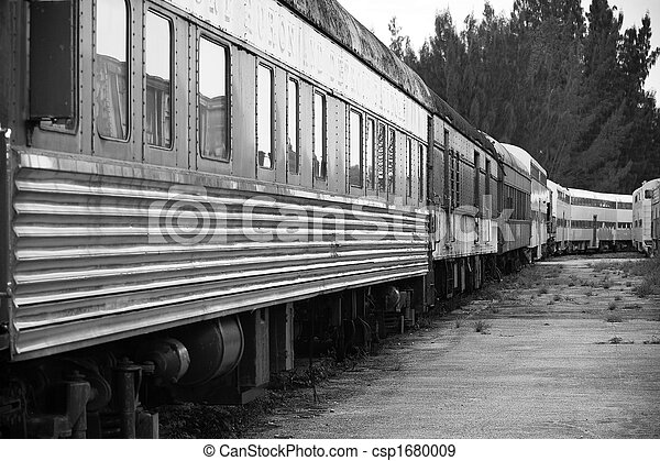 Old Train - csp1680009