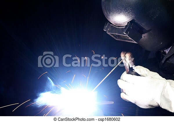 Welding Light and Sparks - csp1680602