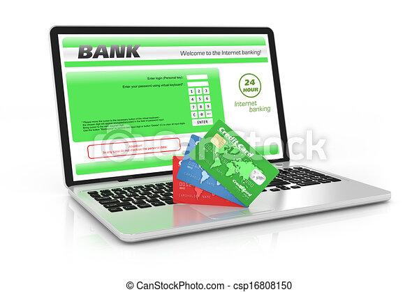 Internet banking service. - csp16808150